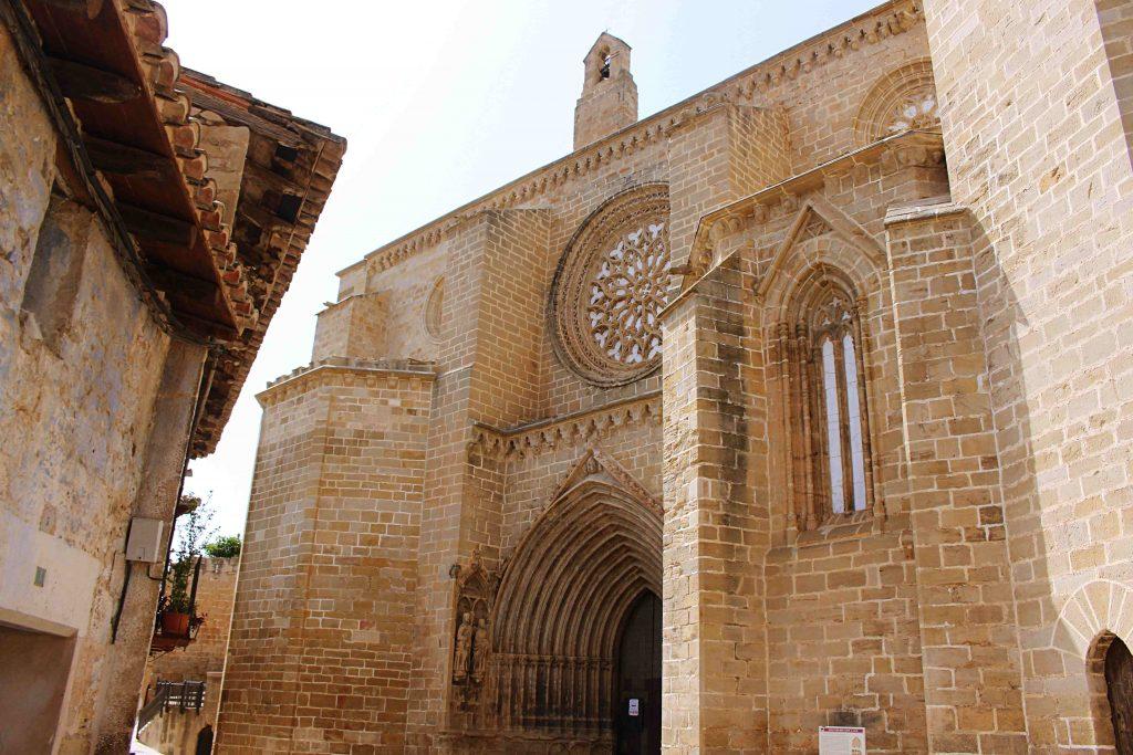Iglesia Parroquial de la Asuncion in Calaceite, Teruel, Spain