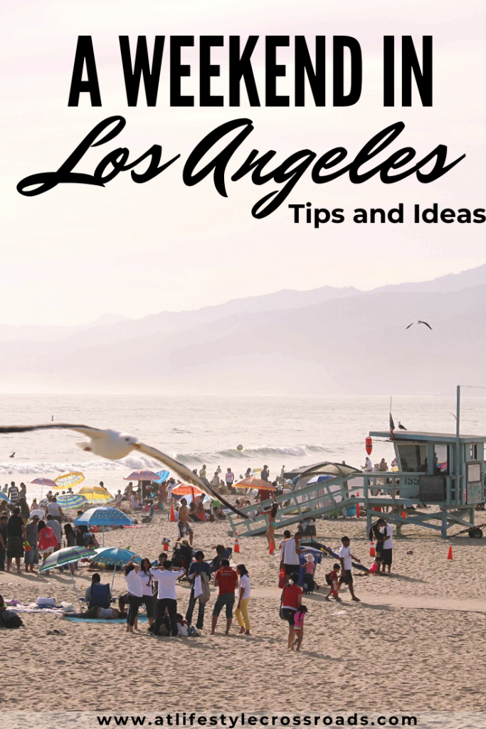 Pinterest image of Santa Monica beach in Los Angeles