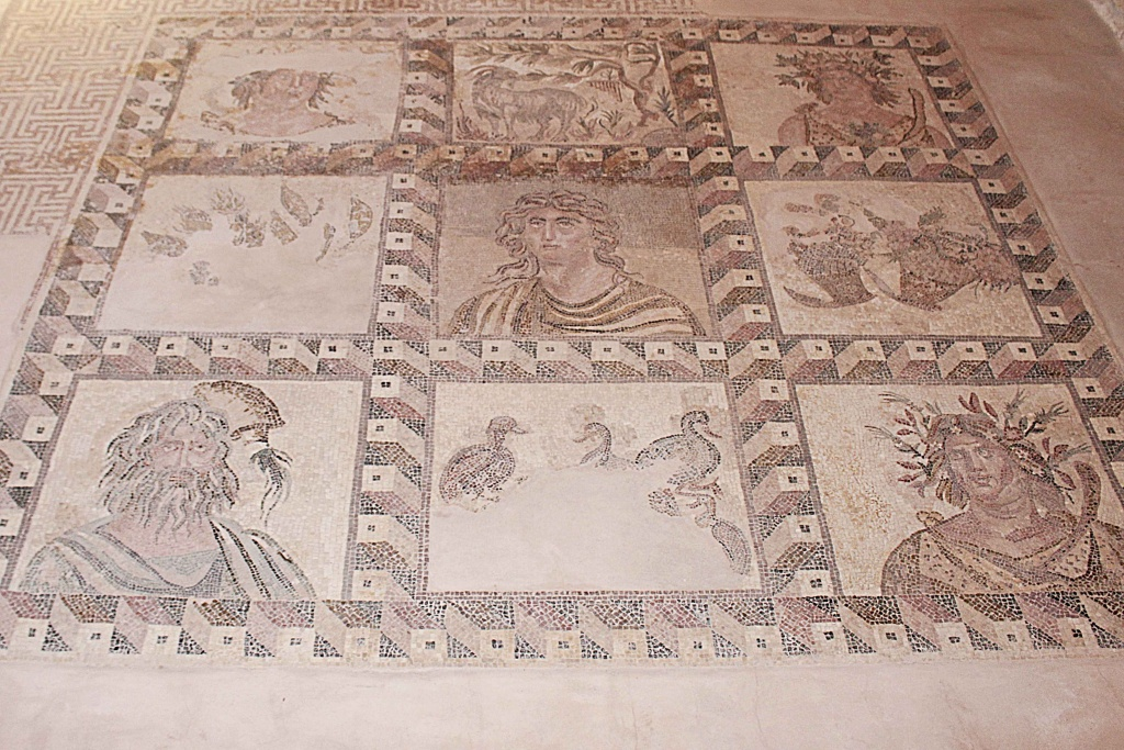 Ancient Roman Mosaics in Cyprus