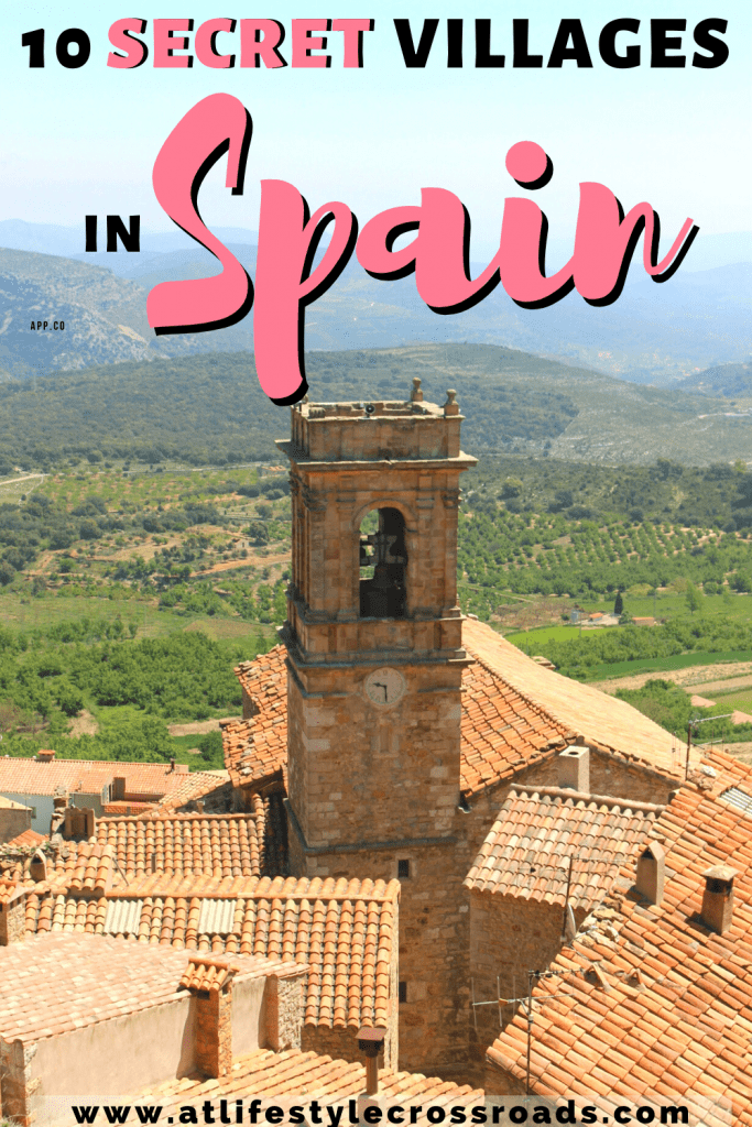 Views, fields, roofs in Culla, a hidden gem in the Spanish Province of Castellon