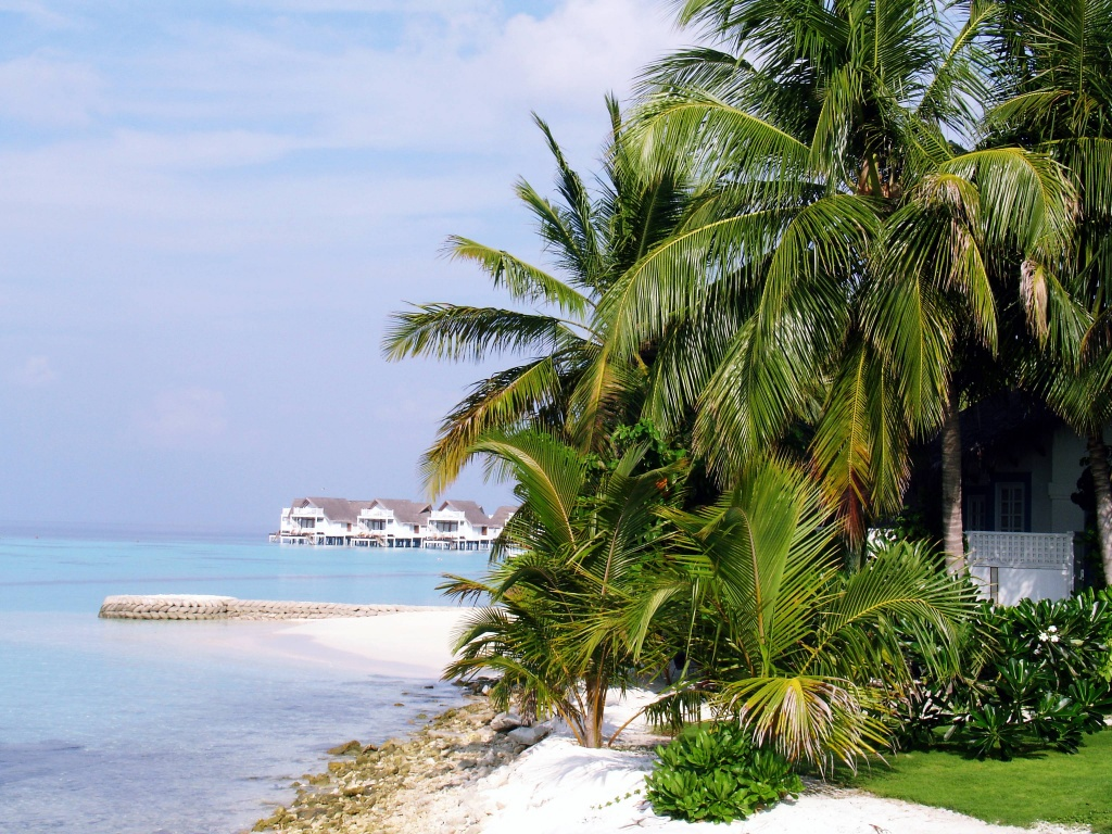 A romantic getaway to the tropical paradise of the Maldives
