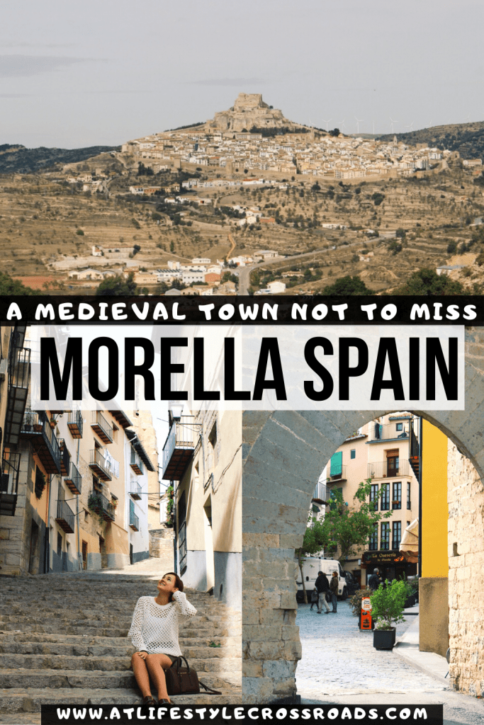 A medieval town of Morella, Spain
