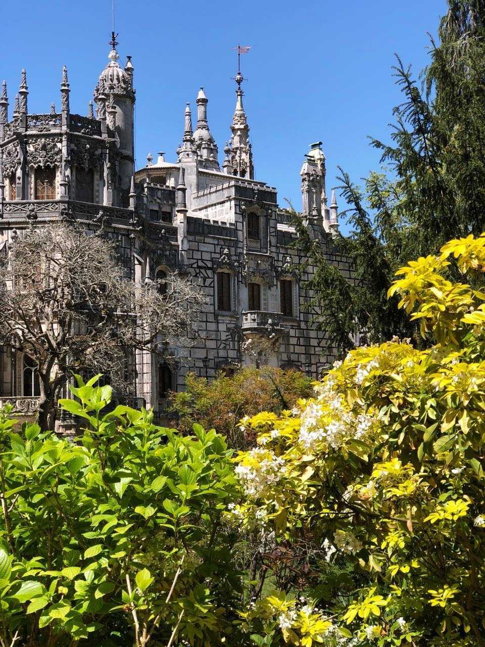 Quinta da Regaileira in Sintra, Portugal
