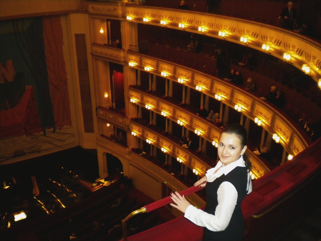 Visiting Vienna State Opera House in Austria