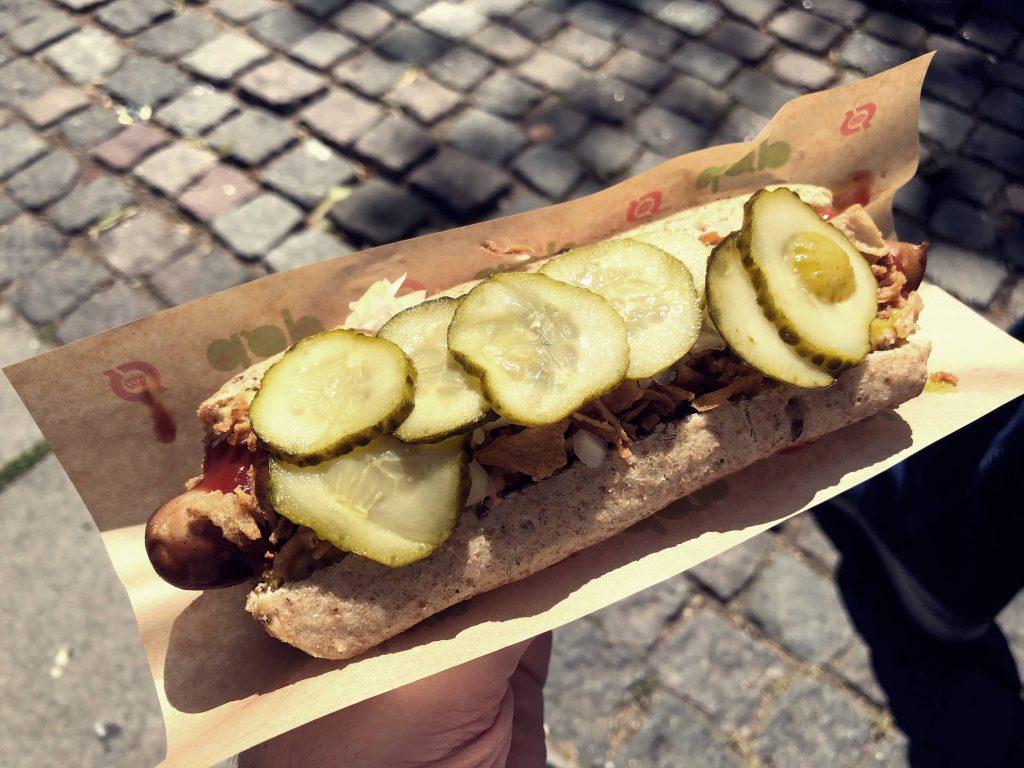 Copenhagen hotdog