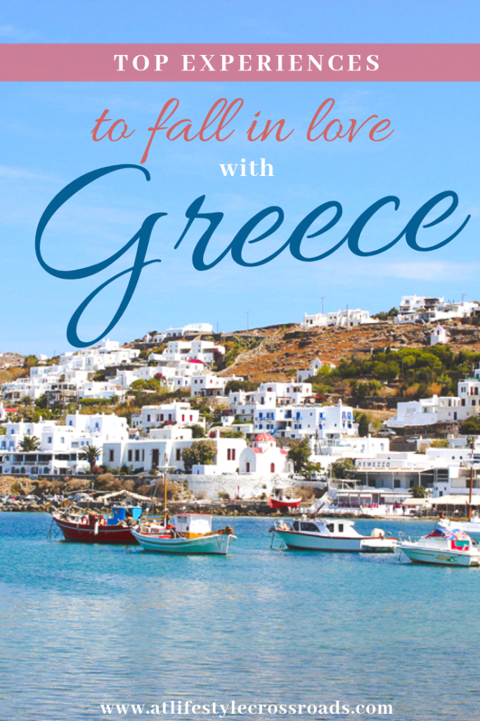 Top experiences to Fall in Love with Greece - Pinterest