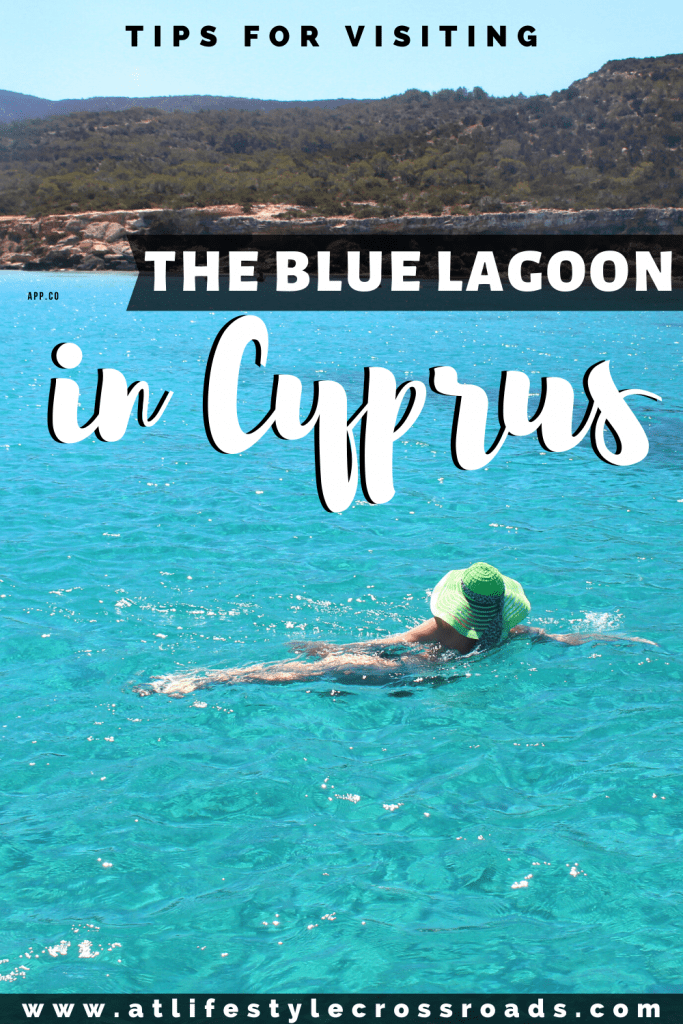 Visiting The Blue Lagoon in Cyprus - Pinterest