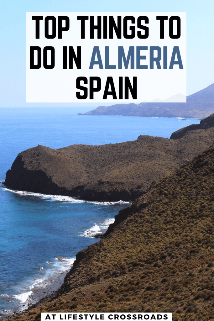 Almeria Holiday Guide Spain for Pinterest