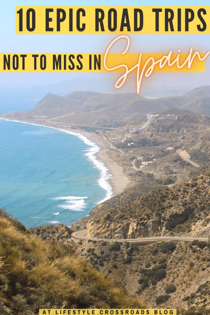 Road Trips in Spain Pinterest