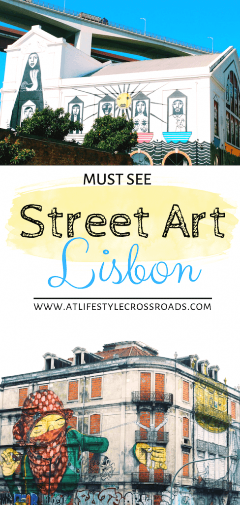 Where to find Street Art in Lisbon, Portugal