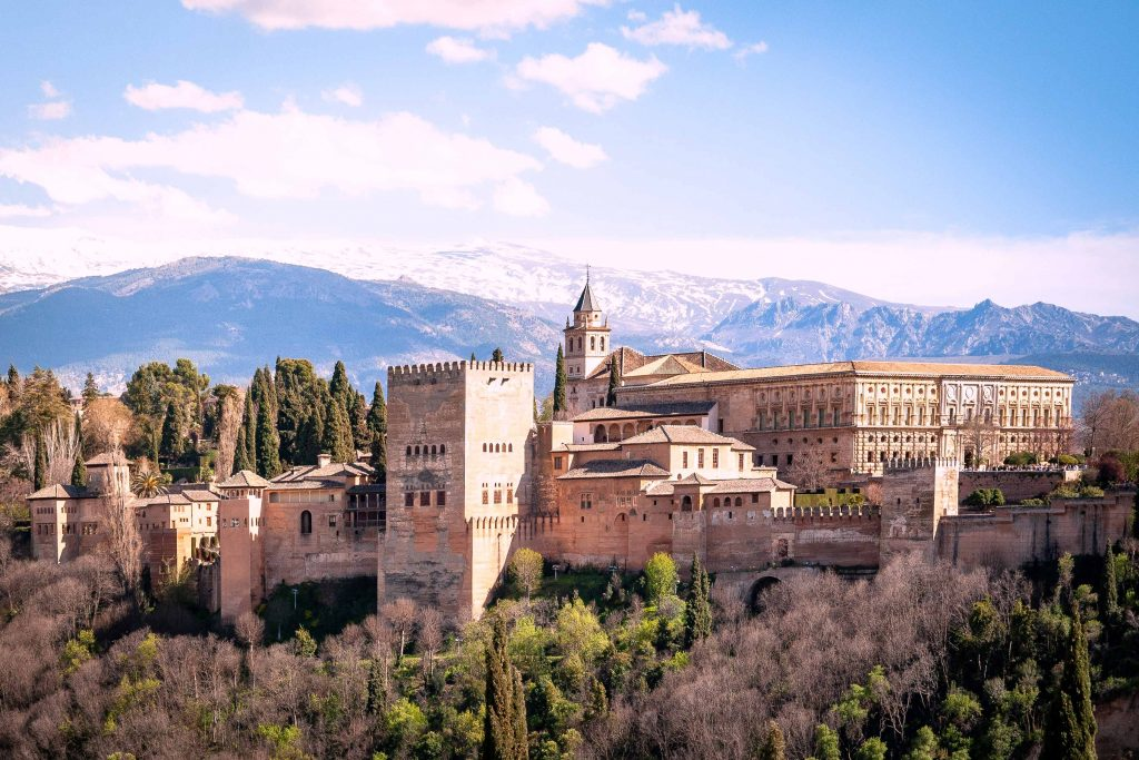 The Alhambra of Granada Spain