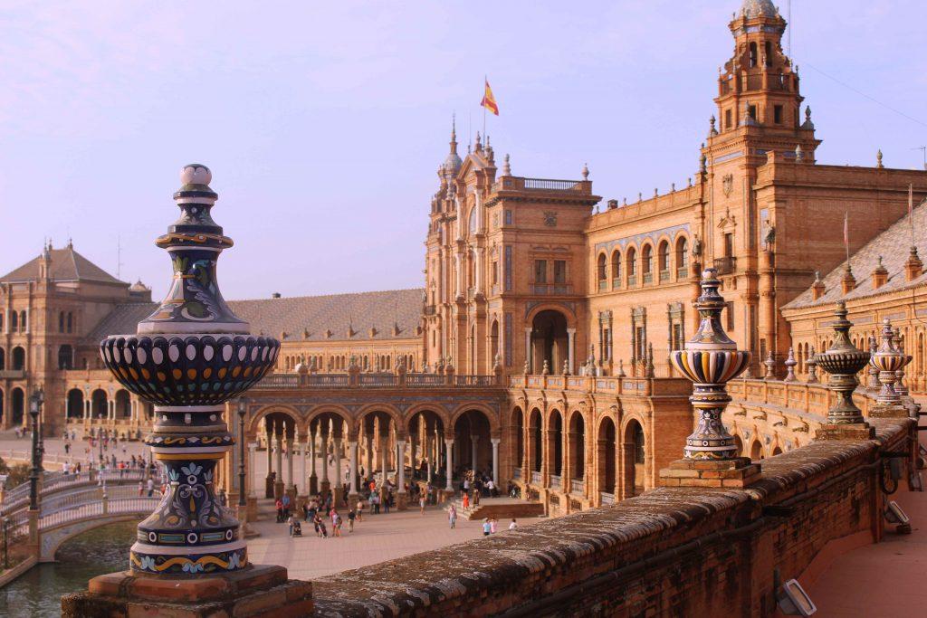 Plaza de España in Seville Spain