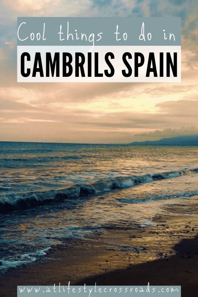 Cambrils Travel Pinterest