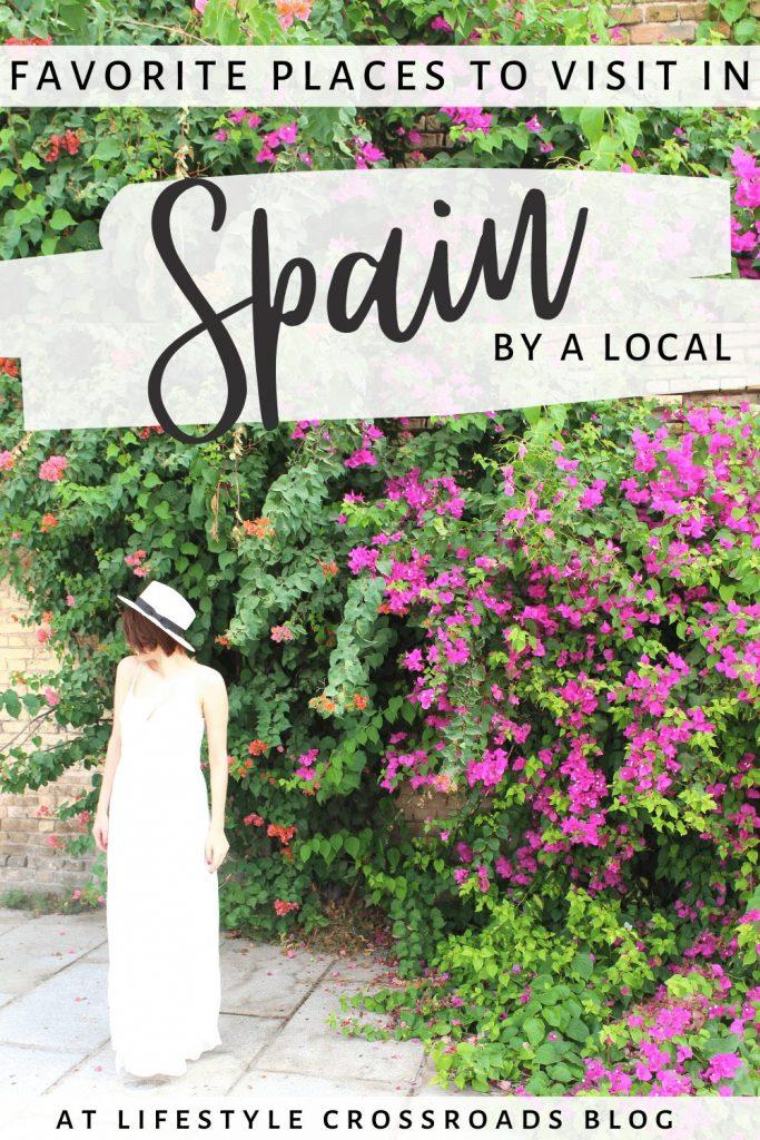 Favorite Places in Spain Pinterest