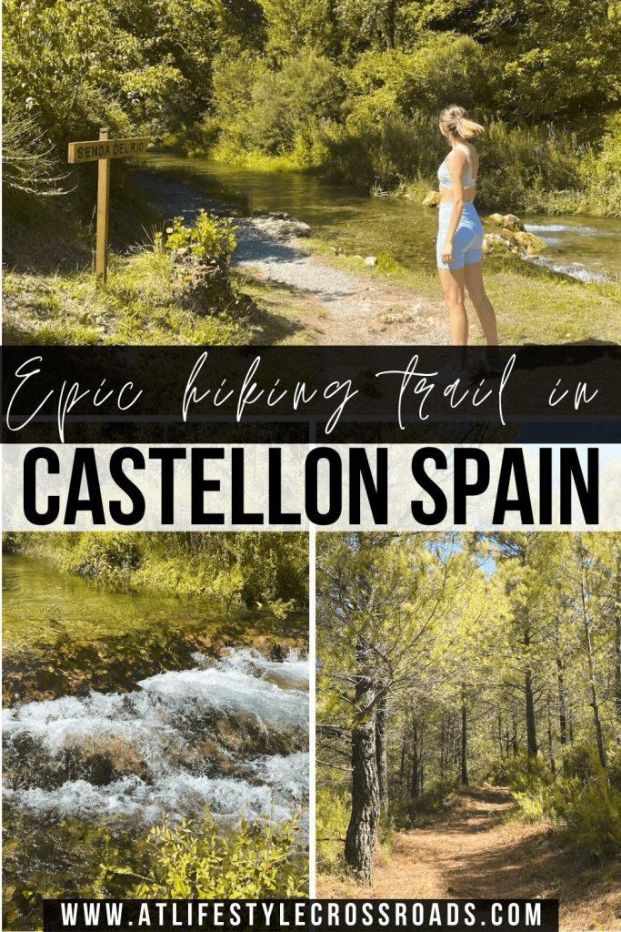 pin for Hiking in Castellon - La Senda Del Rio in Teresa
