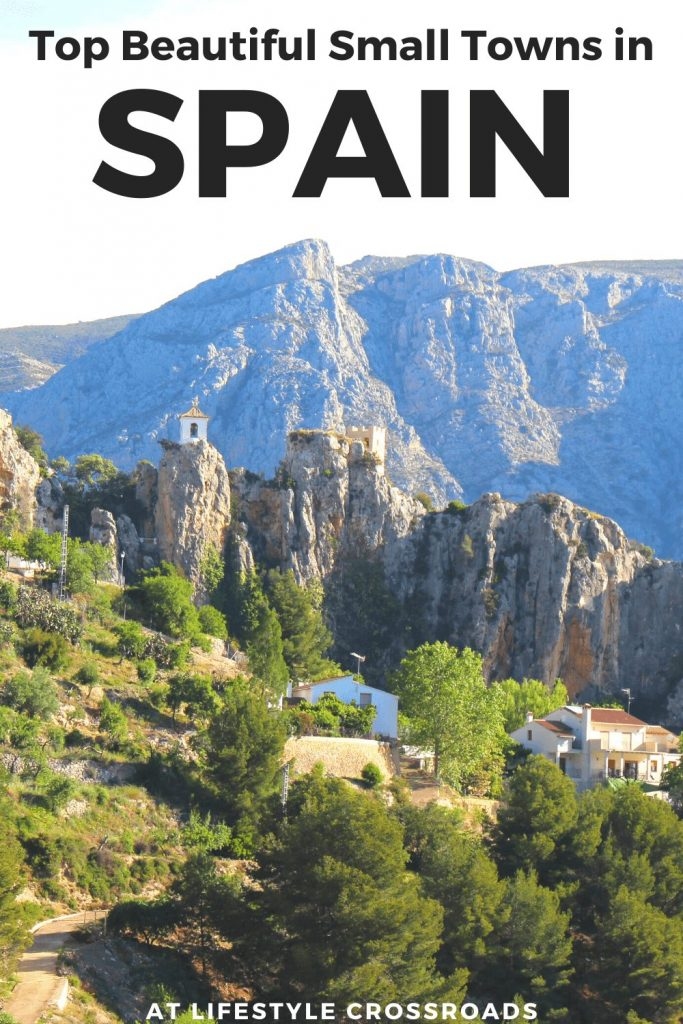 Top Beautiful Small Towns in Spain pin